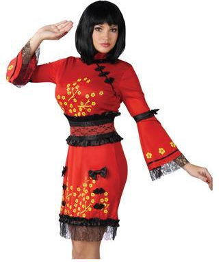 China doll geisha dress